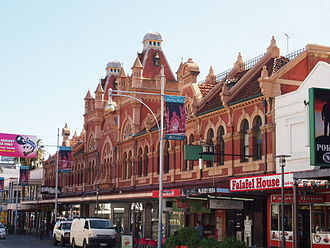 Coffee palace - West's Coffee Palace, Adelaide