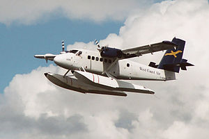 A West Coast Air de Havilland Canada DHC-6 Twi...