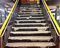 West 4th Street subway stairs under repair 2.jpg