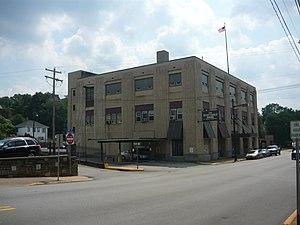 West Penn Railways - Former depot in Connellsville