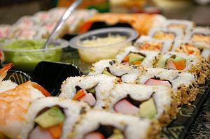 Western Sushi found at Wegmans Supermarket