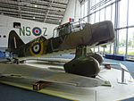Westland Lysander at RAF Museum London (side).jpg