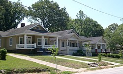 1910/20s bungalows are the most common house style in Westview