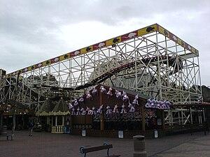 Wild Mouse roller coaster - Wild Mouse, Pleasure Beach, Blackpool, United Kingdom