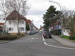 Wilhelm-Leuschner-Straße in Raunheim