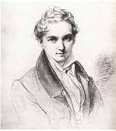 Wilhelm Hensel: Self-portrait (1829) (Source: Wikimedia)
