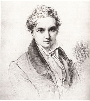 Wilhelm Hensel - Self-portrait (1829)