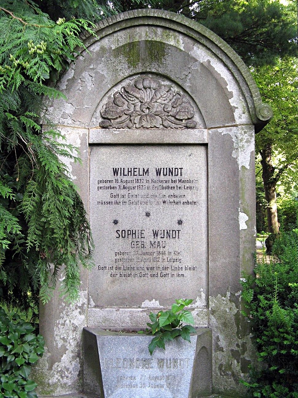 Wilhelm Wundt Gravestone