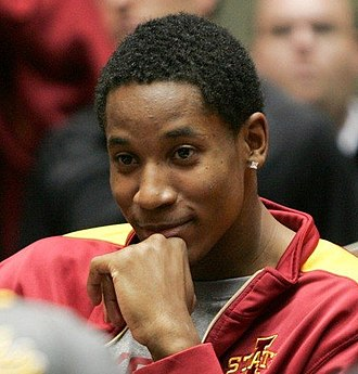 Will Clyburn - Clyburn watches an Iowa State game in 2011 while redshirting the season.