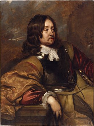 Edward Hyde, 1st Earl of Clarendon - Edward Hyde by William Dobson, circa 1643