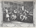 William Hogarth - Industry and Idleness, Plate 10; The Industrious 'Prentice Alderman of London, the Idle on brought before him & Impreach'd by his Accomplice.png
