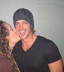 William Levy z fanką (2009).