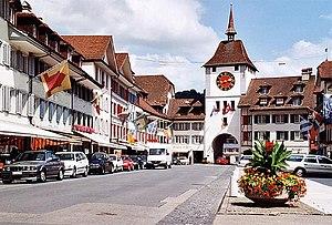 Unteres Tor von Willisau-Stadt