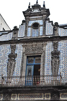 Tile wikipedia for Azulejos mexico