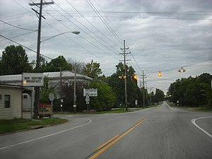 Ohio State Route 534 - Ohio State Route 534's intersection in Windsor.