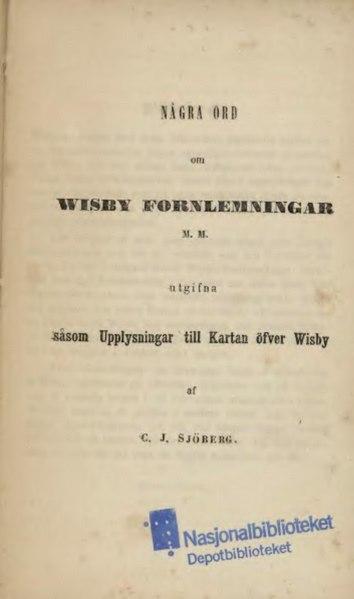 File:Wisby Fornlemningar.djvu
