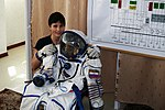 With the Sokhol pressure suit. (6333468321).jpg