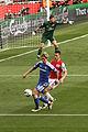 Wojciech Szczesny, Fernando Torres & Laurent Koscielny (6954507306).jpg