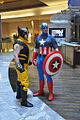 Wolverine and Capt. America at Dragon Con 2010.jpg