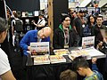 WonderCon 2011 - Fraggle Rock comic creators Paul Morrissey and Jake Myler sign at the Archaia booth (5597109812).jpg