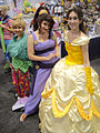 WonderCon 2012 - Tinkerbell, Megara, Belle (6873206622).jpg