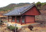 Wontongjeon Hall at Gaemoksa temple in Andong, Korea 02.jpg