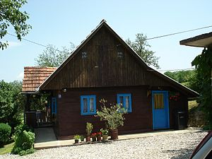 wooden house from 1900s/1910s, Croatia
