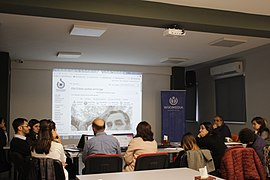 Workshop with representatives of Armenian museums, Wikimedia Armenia 04.jpg