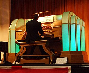 Musical Museum, Brentford - Image: Wurlitzer, Brentford Musical Museum, London