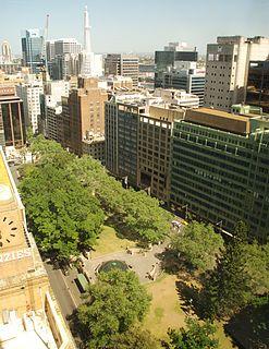 Wynyard Park, Sydney Park in Sydney, Australia