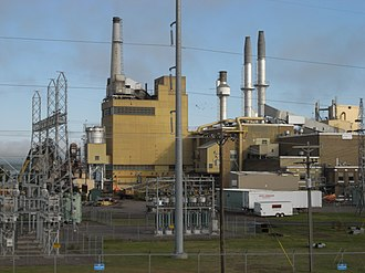 Xcel Energy - The Bay Front Power Plant in Wisconsin.
