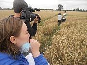 Filming Checkmate in the Yorkshire countryside, summer 2011