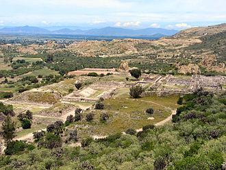 Yagul - Image: Yagul Panorama