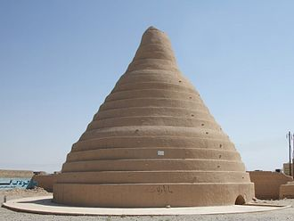 Ice cream - A yakhchal, an ancient type of ice house, in Yazd, Iran