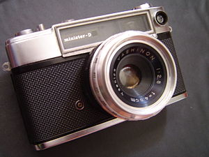 My dad's old camera. He never found its Flash ...