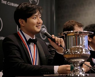 Yekwon Sunwoo - Yekwon at June 2017 press conference after winning gold medal at the Fifteenth Van Cliburn International Piano Competition
