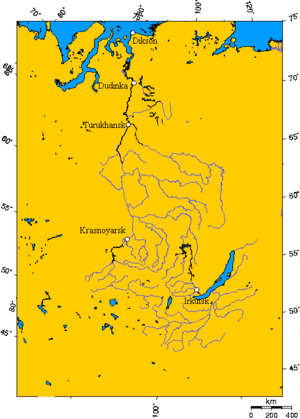 Turukhansk - The Yenisei River basin