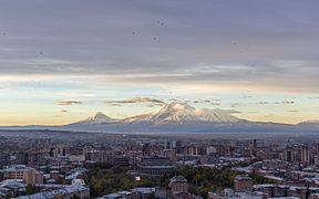 Yerevan skyline at dawn.jpg