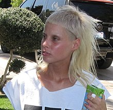 Yo-Landi of Die Antwoord during an interview at the Coachella Oasis 2010.jpg