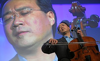 Yo-Yo Ma - Ma appearing at the World Economic Forum's annual meeting in 2008.