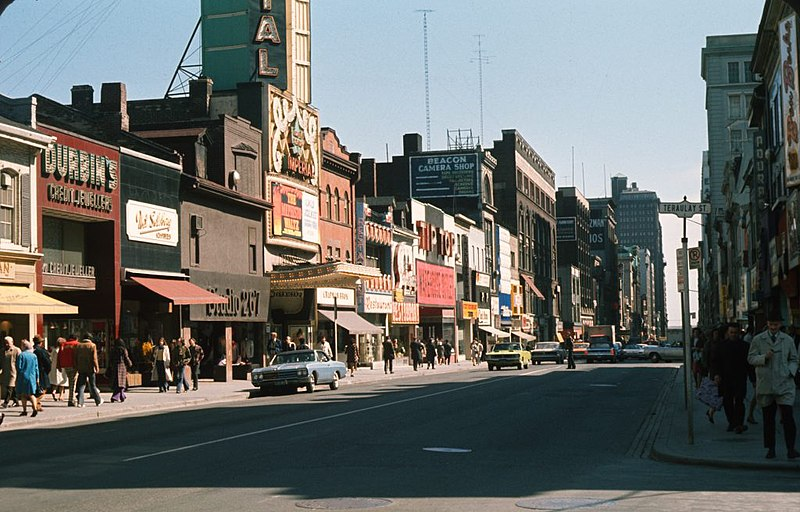 File:Yonge and Teraulay Street Toronto 1971.jpg