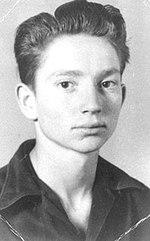 407849b0 Nelson as a junior at Abbott High School, 1949