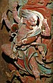 Yuan Dynasty (元) statue of Hayagriva (馬頭觀音; 马头观音; Matou Guanyin) one out of two Wisdom Kings, or vidyaraja (明王; Mingwang), in Fusheng Temple (福勝寺; 福胜寺), Yuncheng, Shanxi, China Picture 3.jpg