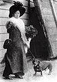 Yuki Kato Morgan with her dog.jpg