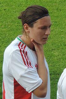 Bernadett Zágor Hungarian footballer