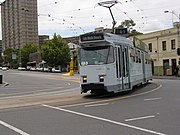 Z3 Melbourne tram, Elgin and Lygon Streets, Melbourne