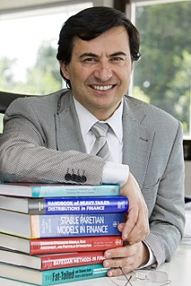 Svetlozar Rachev Bulgarian mathematician