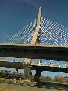 Zakim Bridge from from a train.jpg