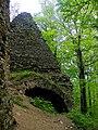Zamek Lipa Górna - Piramida - Dolnośląskie, powiat jaworski HWPS.JPG