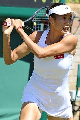 Zhang Shuai (tennis) - Shuai Zhang in 2018